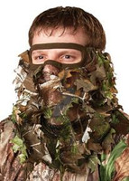 Camo Flex Form II Leafy Realtree Xtra Green 3/4 Face Mask 07206