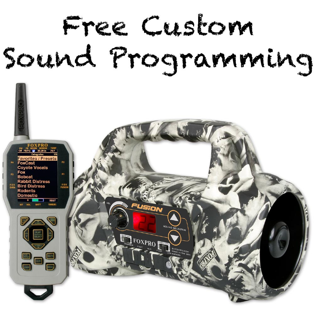 Free Custom Sound Programming on FOXPRO Fusion