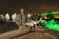 W402ZF Predator & Hog Night Hunting Bow Hunter Kit With GREEN LED