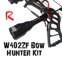 Wicked Lights™ W402ZF Predator & Hog Night Hunting Bow Hunter Kit With RED LED
