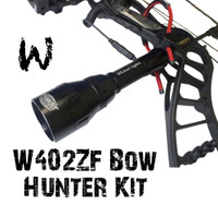 Wicked Lights™ W402ZF Predator & Hog Night Hunting Bow Hunter Kit With WHITE LED