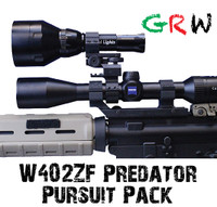 Wicked Hunting lights Predator Pursuit Signature Series Pack.  Deadly on Hogs and Predators.