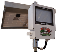 Wicked Lights™ Ambush A1 Gen 2 Night Hunting Hog and Predator WHITE LED Feeder Light and Solar Panel Kit