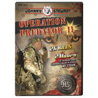 Hunters Specialties Johnny Stewart Operation Predator 11  DVD 20014