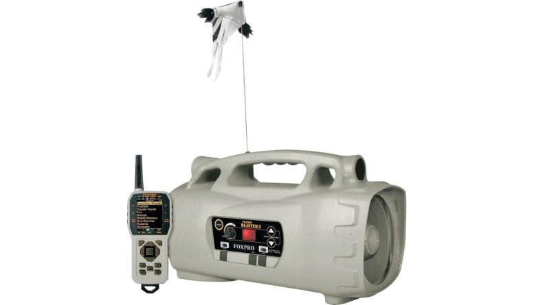 FOXPRO Prairie Blaster 3 with Decoy, TX1000 Series Remote, and 100 Custom Calls PB3