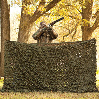 Red Rock Outdoors Gear Trophy Seires Big Game Brown / Green REVERSIBLE Camouflage Netting with Carry Pouch 03-9191