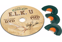 Carltons Calls Elk University PHD Diaphragm Calls with DVD 70810