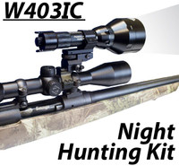 Wicked Lights™ W403-IC Intensity Control Predator & Hog Night Hunting