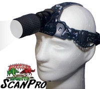 Wicked Lights ScanPro WHITE LED Headlamp for Hog, Coyote, and Predator Night Hunting