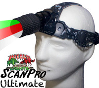 Wicked Lights ScanPro ULTIMATE Headlamp for Hog, Coyote, and Predator Night Hunting