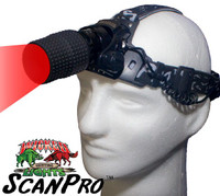 Wicked Lights ScanPro RED LED Headlamp for Hog, Coyote, and Predator Night Hunting