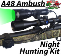 Wicked Lights™ A48 Ambush Light with Intensity Control Predator & Hog Night Hunting Kit with GREEN LED
