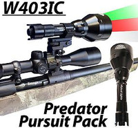 Wicked Lights™ W403 IC Intensity Control Scan & Kill™ Light Predator Pursuit Signature Series Pack With 2 Lights