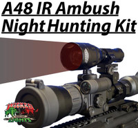 Wicked Lights™ A48IR Ambush Light With 850nm Infrared (IR) LED Predator & Hog Night Hunting Kit