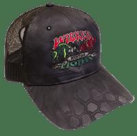 Wicked Lights Logo Hat in Kryptek Typhon Camo