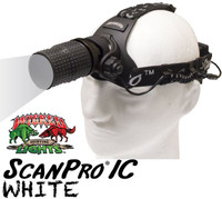 Wicked Lights ScanPro IC Night Hunting Headlamp with white LED thumbnail