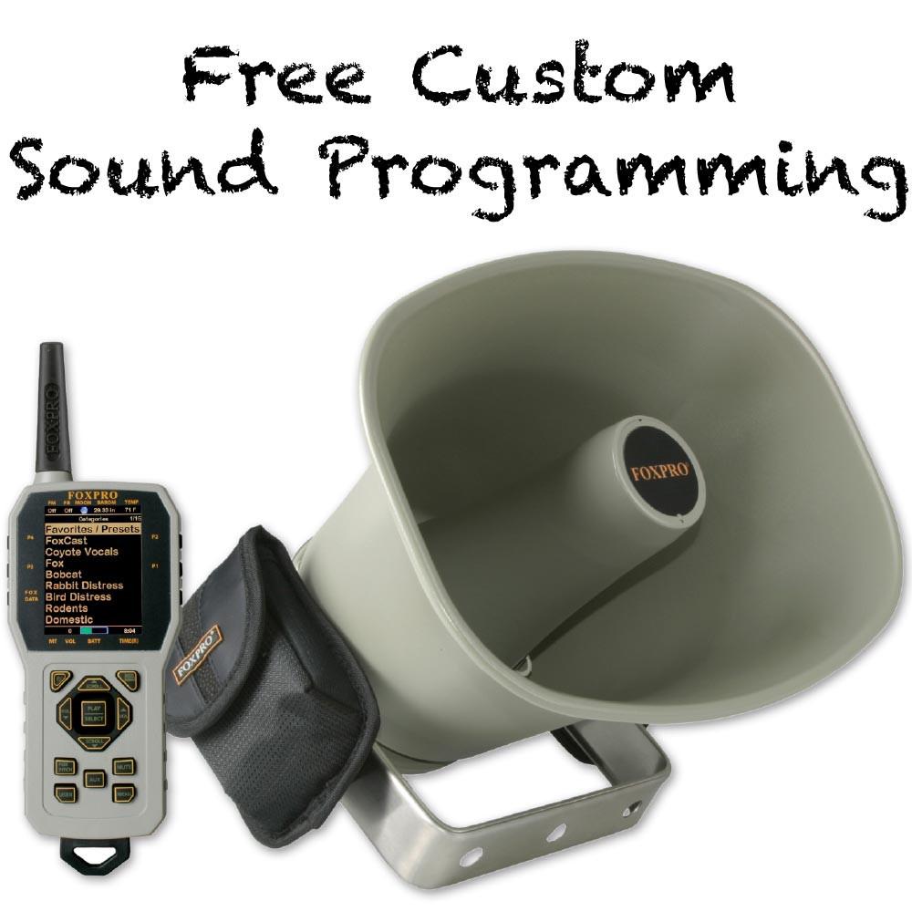 Free Custom Sound Programming on FOXPRO CS24 Krakatoa 2