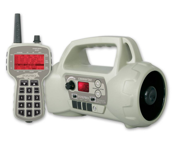 FOXPRO Crossfire digital game call with 75 custom sounds and tx505 remote