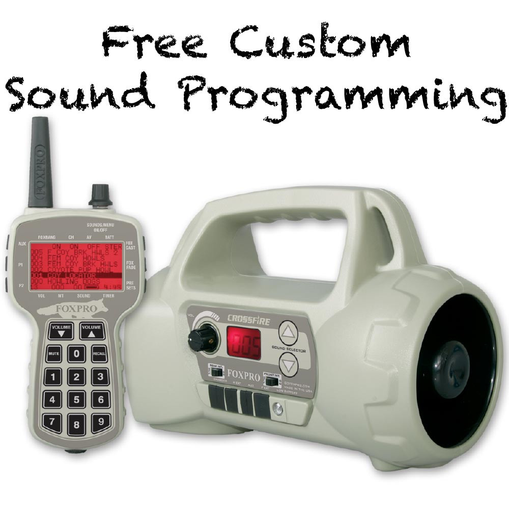 Free Custom Sound Programming on FOXPRO Crossfire