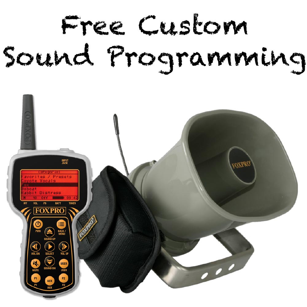 Free Custom Sound Programming on FOXPRO Banshee refurb