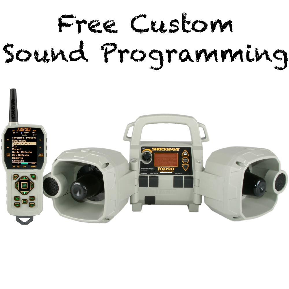 Free Custom Sound Programming on FOXPRO Refurb Shockwave