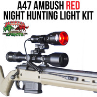Wicked Lights A47 Ambush RED Night hunting light kit thumbnail