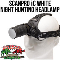 Wicked Lights ScanPro iC White Night Hunting Headlamp Kit Thumbnail