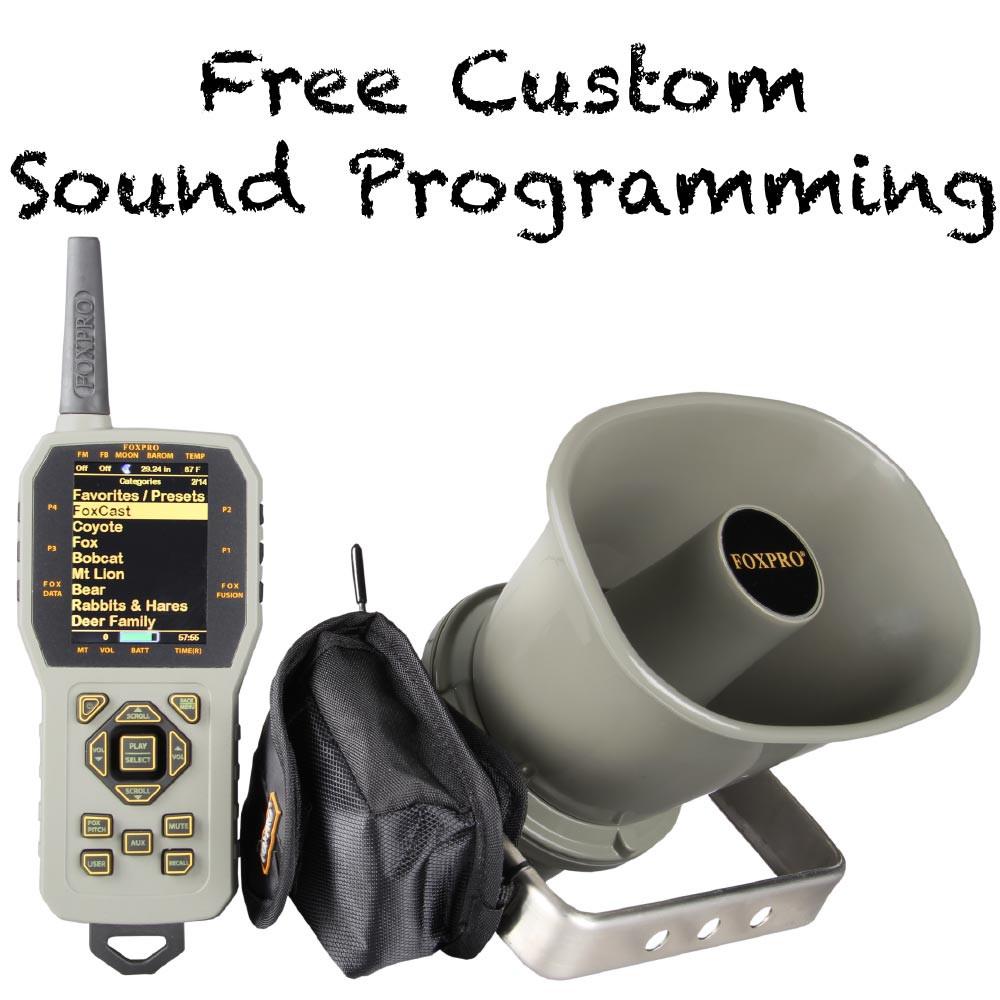Free Custom Sound Programming on FOXPRO CS24C