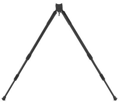 "Caldwell Clutch Sitting Bipod Sling Swivel Stud Mount 14"" to 30"" Black 332535"