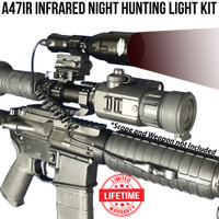 Wicked Lights A47IR Infrared night Hunting Light Kit