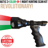Wicked Lights A67iC 3-Color-In-1 Night Hunting Scan light Kit thumbnail