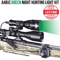 Wicked Lights A48iC Green Night Hunting Light Kit thumbnail