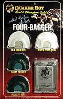 Quaker Boy Four Bagger Diaphram Turkey Call Pack 11303
