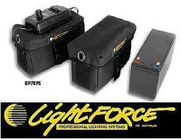 Lightforce 12 Volt 8ah Battery, Carry Bag, and Power Saver Control BP7BPS