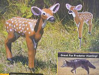 Flambeau Foam Fawn Whitetail Deer and Predator Decoy SF00885 / 5987FN