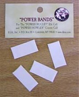 ELK Inc Power Howler for Coyotes Replacement Reed 4-Pack White Standard Pitch Bands 12020