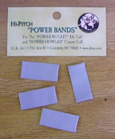 ELK Inc Power Howler for Coyotes Replacement Hi-Pitch Gray Reed 4-Pack Bands 12050