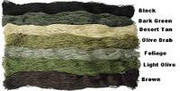 Mil Spec Plus 1 Pound OLIVE DRAB / DARK OLIVE  Ghillie Suit Yarn 029129OD/DOlive