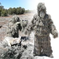 Deluxe Desert Sage Grassland Ghillie Suit