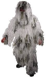 Snow camouflage ghillie