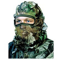 HS Camo Flex Form II Advantage Max4 Camo Face Mask 04546 D