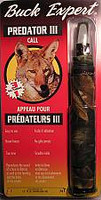 Buck Expert Predator III Call Howler with Instructional CD 74T
