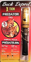Buck Expert X Treem Predator Call 3 in 1 with Instructional CD 74F