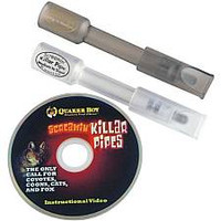 Quaker Boy Screamin Killer Pipes 2 Pack Predator Mouth Call Kit with Mini Instructional Video 62624