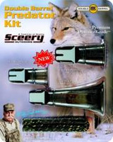 Sceery Double Barrel Predator Kit 3 Pack DBPK