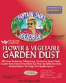 Captain Jack's Flower & Vegetable Garden Dust 4 lbs