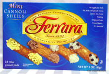 Ferra Mini Cannoli Shells