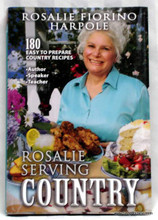 Rosalie Serving Country Cookbook
