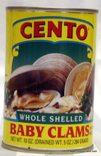 Cento Baby Clams, Whole Shelled