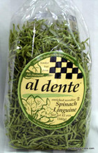Al Dente Spinach Linguine